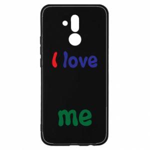 Huawei Mate 20Lite Case I love me. Color
