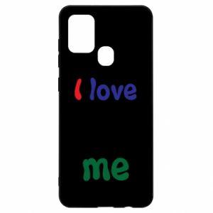 Samsung A21s Case I love me. Color