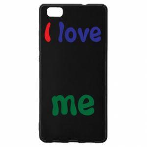 Huawei P8 Lite Case I love me. Color