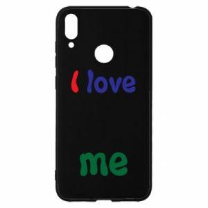 Huawei Y7 2019 Case I love me. Color