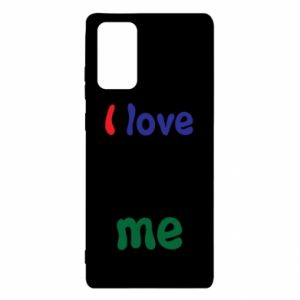 Samsung Note 20 Case I love me. Color