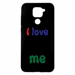 Xiaomi Redmi Note 9/Redmi 10X case I love me. Color