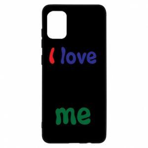 Samsung A31 Case I love me. Color