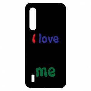 Xiaomi Mi9 Lite Case I love me. Color