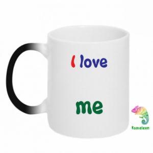 Magic mugs I love me. Color