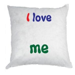 Pillow I love me. Color