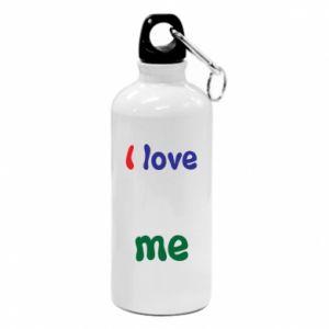 Water bottle I love me. Color