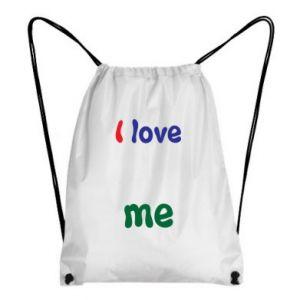Backpack-bag I love me. Color