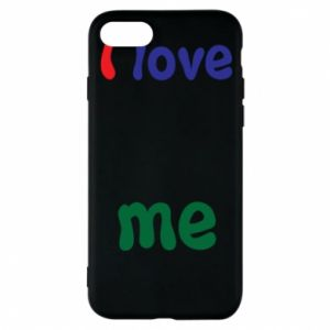 Phone case for iPhone 8 I love me. Color