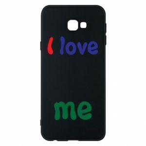 Phone case for Samsung J4 Plus 2018 I love me. Color