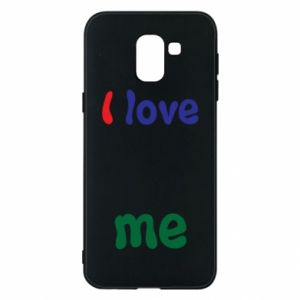 Phone case for Samsung J6 I love me. Color