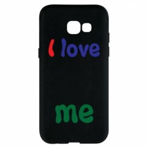 Phone case for Samsung A5 2017 I love me. Color