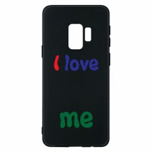 Phone case for Samsung S9 I love me. Color