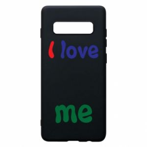Phone case for Samsung S10+ I love me. Color