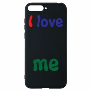 Phone case for Huawei Y6 2018 I love me. Color