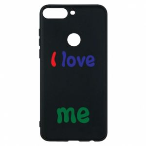 Phone case for Huawei Y7 Prime 2018 I love me. Color