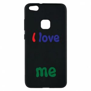 Phone case for Huawei P10 Lite I love me. Color