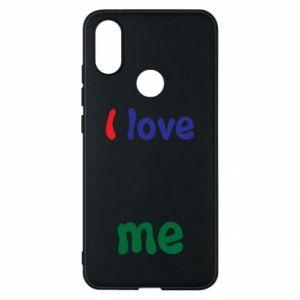 Phone case for Xiaomi Mi A2 I love me. Color