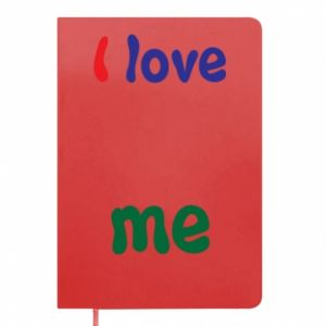 Notepad I love me. Color