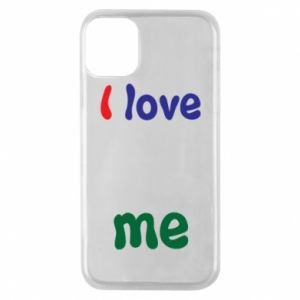 Phone case for iPhone 11 Pro I love me. Color