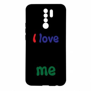 Xiaomi Redmi 9 Case I love me. Color