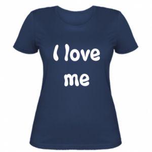 Damska koszulka I love me