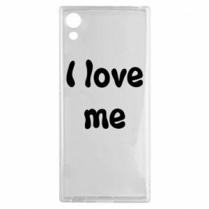 Sony Xperia XA1 Case I love me