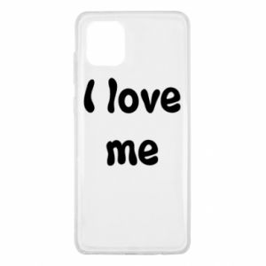 Samsung Note 10 Lite Case I love me