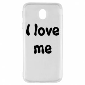 Samsung J7 2017 Case I love me