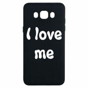 Samsung J7 2016 Case I love me