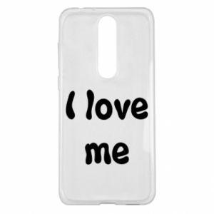 Nokia 5.1 Plus Case I love me