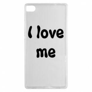 Huawei P8 Case I love me