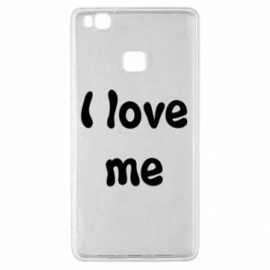 Huawei P9 Lite Case I love me