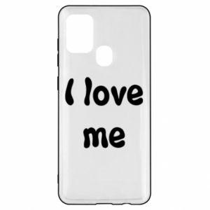 Samsung A21s Case I love me