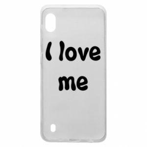 Samsung A10 Case I love me