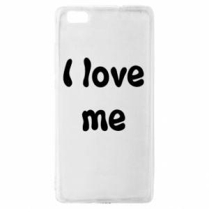 Huawei P8 Lite Case I love me