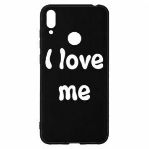 Huawei Y7 2019 Case I love me