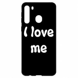 Samsung A21 Case I love me