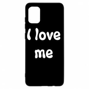 Samsung A31 Case I love me