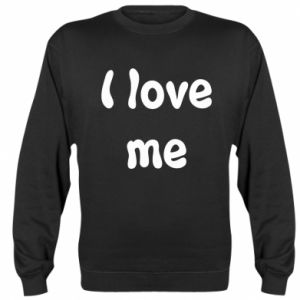 Bluza (raglan) I love me
