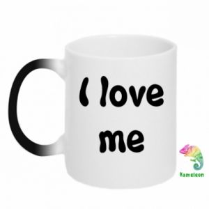 Kubek-kameleon I love me