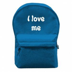 Plecak z przednią kieszenią I love me