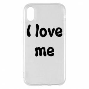 Etui na iPhone X/Xs I love me
