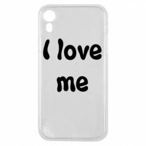 Etui na iPhone XR I love me