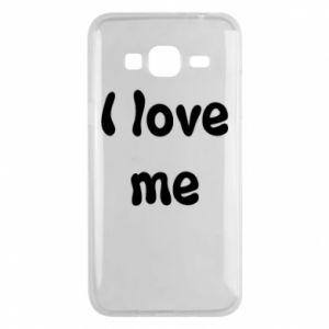 Etui na Samsung J3 2016 I love me