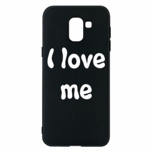 Etui na Samsung J6 I love me