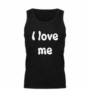 Męska koszulka I love me