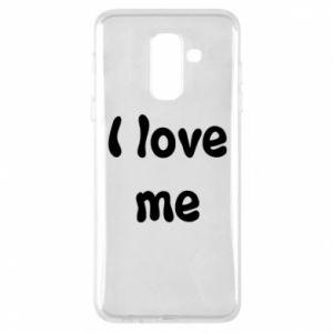 Etui na Samsung A6+ 2018 I love me