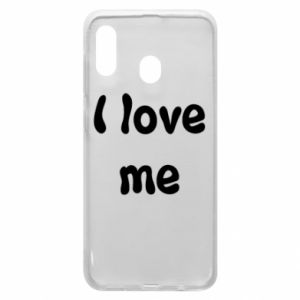 Etui na Samsung A20 I love me