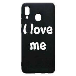Etui na Samsung A30 I love me